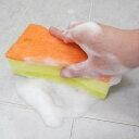 風呂スポンジ すご泡 バススポンジ ( バスクリーナー 風呂用スポンジ お風呂ブラシ スポンジクリーナー ハンディブ…