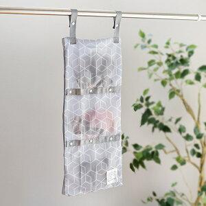 洗濯ネット まるごと洗える干せる3ポケットネット そのまま干せる 洗濯 ネット マスク ( 洗濯用ネット コインランドリー用バッグ 薄型 ポーチ 仕切り マスク洗い 丸洗い ファスナー 3ポケ