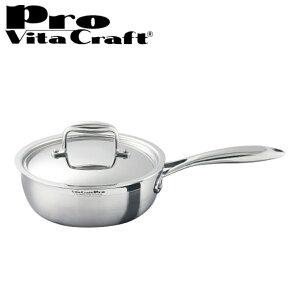 Vita Craft ビタクラフト ソテーパン フライパン 20cm プロ No.0132 IH対応 業務用 ( 送料無料 無水調理 無油調理 VitaCraft Pro ガス火対応 )【39ショップ】