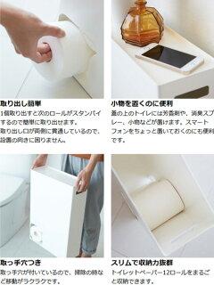 トイレットペーパーストッカープレートPlateスチール製トイレットペーパー収納トイレットペーパーラック