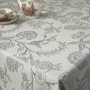 テーブルクロス 北欧 撥水 約130x170cm(長方形4人掛け)ジャガード織 グルナードsimple&modern