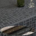 テーブルクロステーブルクロス 北欧 テーブルクロス 撥水 約140x180cm(長方形4人掛け)キューブ
