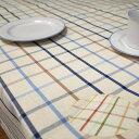 テーブルクロス 撥水テーブルクロス 北欧ラティス 格子のデザインサイズ 140×180cm 4人掛けのテーブルクロス