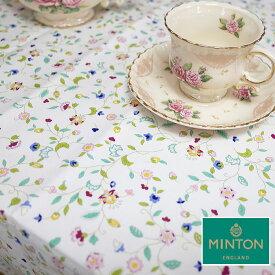 ミントン テーブルクロス MINTON 撥水加工ハドンホールアニバーサリー サイズ130×180cm 4人掛けのテーブルにコットン100% 綿 日本製