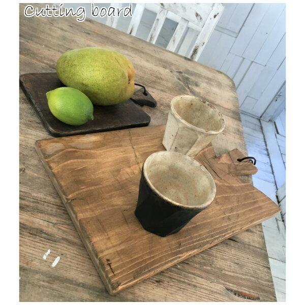 カッティングボード 木製 まな板 キッチン用品 調理器具 取っ手付き おしゃれ カフェ 木製まな板 天然木 ジャコビーン