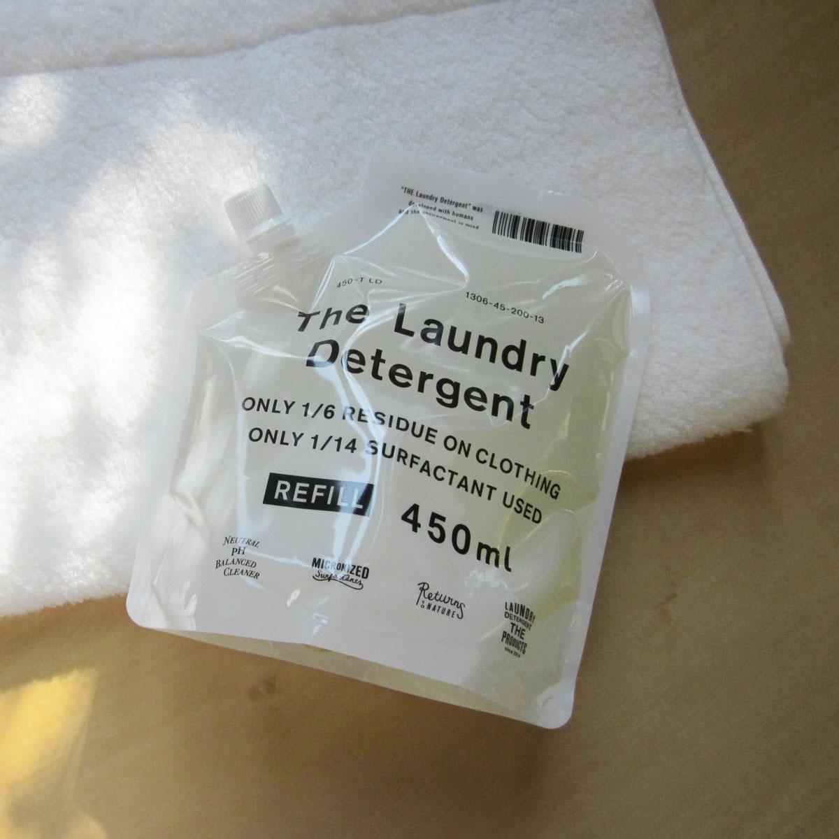 THE 洗濯洗剤 詰替用450ml エコ洗剤 ラベンダー【代引き可能】