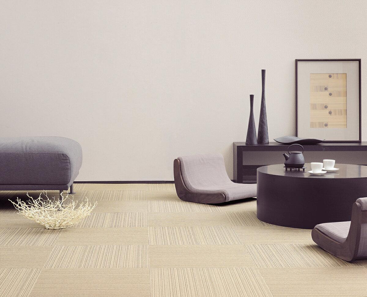【送料無料】東リ タイルカーペット テキスタイルタイルフロア FF7000 50×50cm /洗える タイルカーペット/防ダニ加工/床暖にも使える