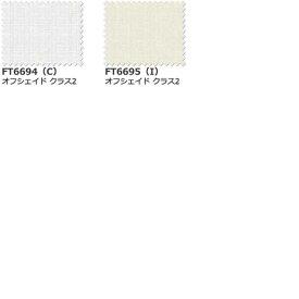 【生地のみの購入! ※1m以上10cm単位で購入可能】 カーテン シェード 川島織物セルコン FELTA TRANSPARENCE FT6694〜6695