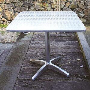 ガーデニング 我が家の素敵なガーデン&インテリア JABIS Garden+Interior★アルミテーブル角 YTS2-80 コード(32617)