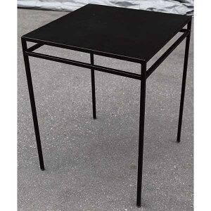 ガーデニング 我が家の素敵なガーデン&インテリア JABIS Garden+Interior★アイアンスクエアテーブル55 コード(38680)