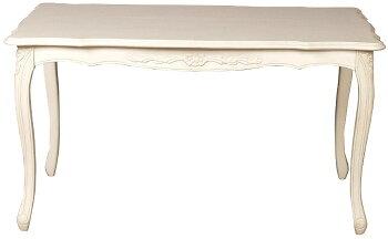 フィオーレFiore食卓5点セットホワイトsa-c-1174-w3-135sa-c-1175-w5【送料無料】テーブル長方形5点セット5点set猫足テーブルダイニングテーブルイタリアデザイン猫脚ねこあしネコ足バロックロココ家具輸入家具クラシック安い激安格安