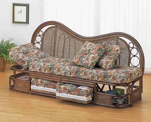 Width 145 Couch Sofa Wicker Rattan Furniture Rattan Furniture Wicker  Furniture Deng Deng Furniture Asia Asian Furniture Ethnic Ethnic Furniture  Abaca ...