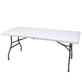 折りたたみテーブル 作業台 ガーデニング 屋外 強化プラスチック 作業テーブル