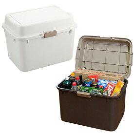 プラスチックコンテナ 収納ボックス 収納ケース フタ付き 大容量 収納庫 ストッカー トランク 新品アウトレット ※時間指定不可※