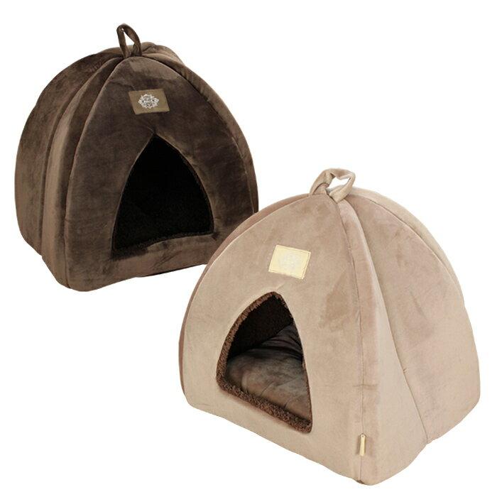 ペットベッド ドーム テント型 ペットソファ おしゃれ あったか 冬用 小型犬 猫