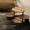 サイドテーブル 在庫限り 丸 ラウンドテーブル ミニテーブル t-40 北欧 ソファベッド ナチュラル 木製 アイアン おし…