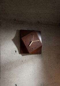 【送料無料】cosine collectionコサイン コレクションCut Out Clock / Walnutカットアウト 掛け時計 / ウォルナット CW-16CW