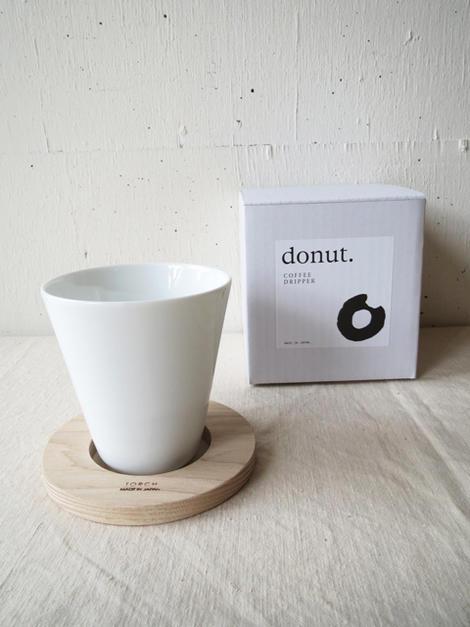 TORCH / DONUT COFFEE DRIPPERトーチ / ドーナツ コーヒー ドリッパー白 TOR-001