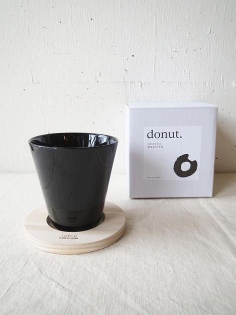 TORCH / DONUT COFFEE DRIPPERトーチ / ドーナツ コーヒー ドリッパー黒 TOR-001B