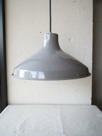 OVJECT / ENAMELED LAMP / 35cm GREYオブジェクト / エナメル ランプ / 直径Φ35cm グレーO-EL-35GYペンダント/食卓用/ダイニング/ホーロー/ほうろう/琺瑯/国産/日本製