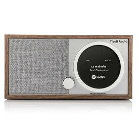 ≪送料無料!≫Tivoli Audio / MODEL ONE DIGITAL / Walnut-Greyチボリ オーディオ / モデル ワン デジタル色:ウォルナット/グレーWi-Hiネットワーク対応・Bluetoothワイヤレス技術搭載・ワイドFMデジタルラジオ・スピーカー/ART/アート