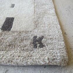undyed+/CHIISAIRUG/IE1アンダイドプラス/ちいさいラグ/いえ165×45cm玄関/ラグ/マット/カーペット/絨毯/無染色/ウール/羊毛/イラクサ/いらくさ/チベット/ネパール