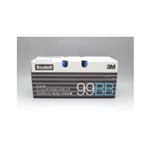 3M マスキングテープ コンクリート・タイル・パネル用 99BB 幅21mm×長18m 60巻