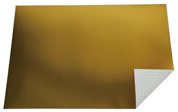 アーテック メタリック工作方眼紙 4切 金色 1枚 13922