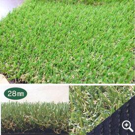 ユニオンビズ 高品質 リアル人工芝 メモリーターフ28mm MT28-0210 2m巾×10m長