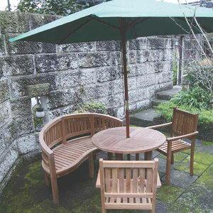 ジャービス商事 ROUND TABLE 0909 丸テーブル0909 チーク 無塗装 20706 1台