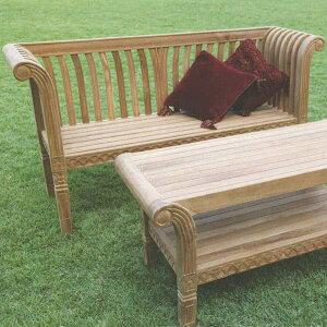 ジャービス商事 GRAND BENCH グランドベンチ GRAND SET グランドセット チーク 無塗装 35210 1台