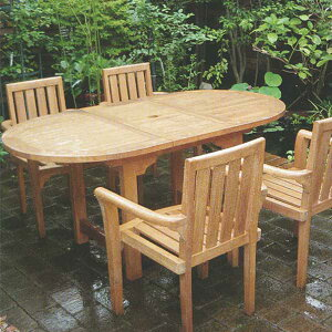 ジャービス商事 EXTENSION TABLE エクステンションテーブル チーク 無塗装 36337 1台