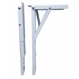 田邊金属 TANNER ジャンボ60 棚受け 耐荷重100kgの折りたたみ式 棚受け金具 1組(2本)