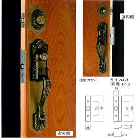長沢製作所 古代 ツーロック取替錠 924509