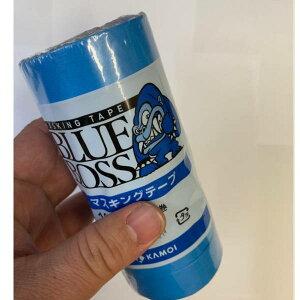 カモイ 車両用 マスキングテープ BLUE BOSS 15mm巾×18m長 80巻