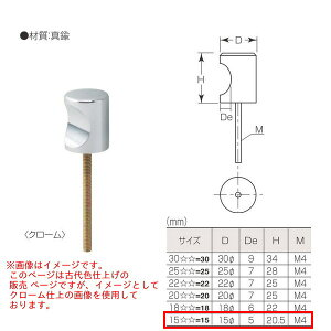 丸喜金属 真鍮 C型つまみ B-780 155 D15Φ 仕上げ:古代色