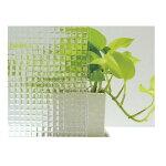 明和グラビアガラスフィルムLow-Eガラス対応窓飾りシート92cm×90cmGHS-9220クリアー220164