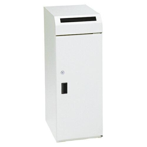 ぶんぶく 機密書類回収ボックス ネオホワイト<大> KIM-S-9 1台