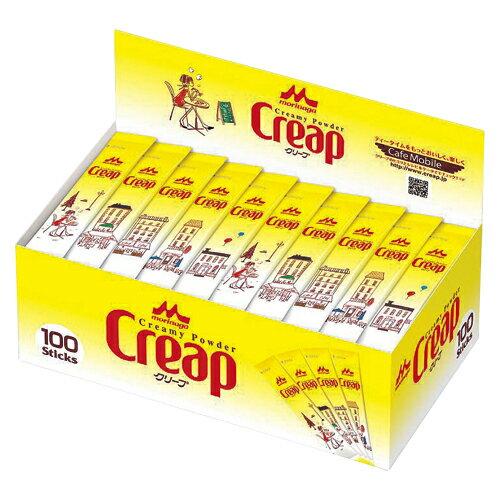 森永乳業 クリープ スティックオフィス用100本入 クリープスティックオフィスヨウ 3GX 1箱
