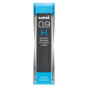 三菱鉛筆 ユニシャープ芯ナノダイヤ 0.9 H U09202ND-H 1個