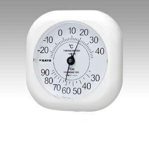 佐藤計量器製作所 ソフィア温湿度計 4030 1014-00 1個