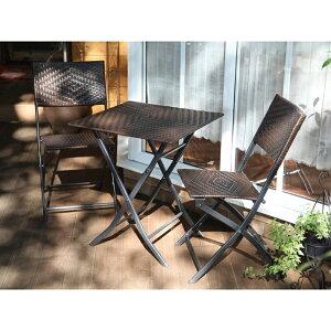 フォールディングテーブル 3点セット JB3-39901
