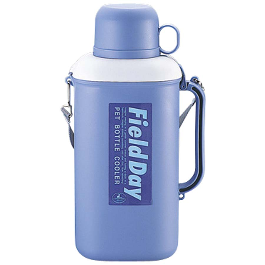 キャプテンスタッグ 抗菌ペットボトル用クーラー(保冷剤付)2.0L(パープル)(市販品角型ペットボトル2L、丸型・角型ペットボトル1.5L専用) M-8904