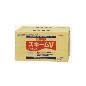 ヤヨイ化学 下塗り用パテ スーパースキームV 120分 14kg 267-831