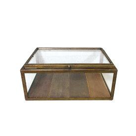 ダルトン ガラス コレクション ボックス R655-777AGD