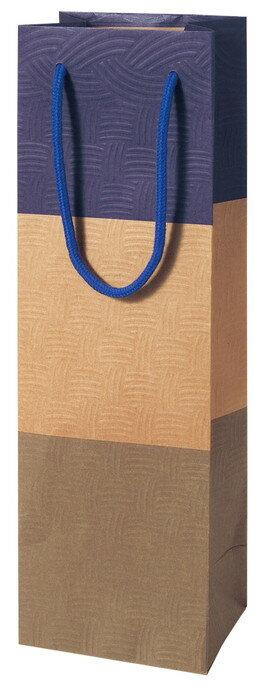 包装袋 ボトル袋 383914 ボトル用 1本用 AMI・バイオレット 120×90×380 100枚