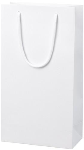 包装袋 ボトル袋 383916 ボトル用 2本用 AMI ストライプ・ホワイト 200×100×365 50枚