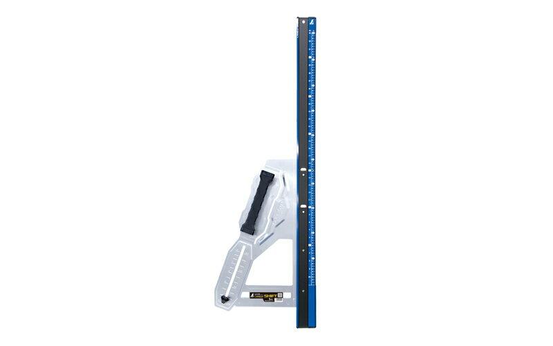 シンワ 丸ノコガイド定規 エルアングルPlusシフト 1m 寸勾配切断機能付 79054