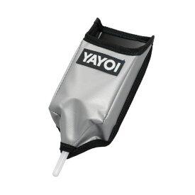 ヤヨイ化学 コークポケット(逆さ式)シルバー 巾100×高240×奥行80mm 354-029