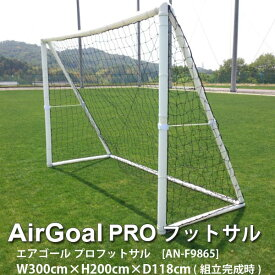 ユニオンビズ エアゴール プロ フットサル AN-F9865 幅300× 高さ200× 奥行118cm 1つ